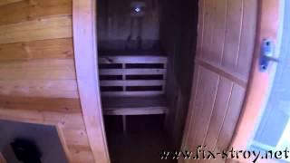 Брусовая банька размером 4х6 метров hd720(СТРОИТЕЛЬСТВО., 2015-04-16T10:32:03.000Z)