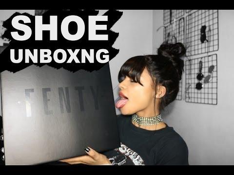 RIHANNA x FENTY BOOT UNBOXING | ARIANA.AVA