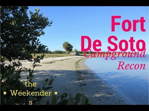 The Weekenders Rv Reveiw Fort De Soto Park Campground