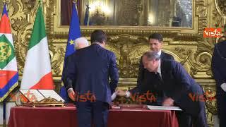 Il giuramento di Salvini, Ministro dell'Interno