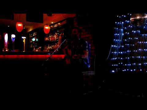 Micheal McGarry playing the Central Bar Navan