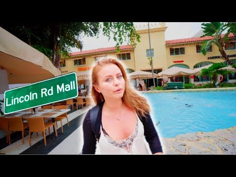 SOUTH BEACH MIAMI | LINCOLN ROAD STORES | Miami fl episode 6 | 4k travel vlog 023