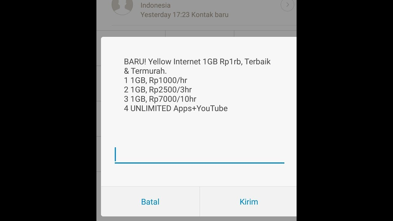Dial Paket Murah Indosat 1gb Hanya Rp1000 Youtube Voucher 1 Gb Unlimited Apps