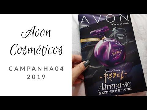 AVON COSMÉTICOS CAMPANHA 04/2019