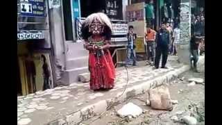lakhe dance in kathmandu