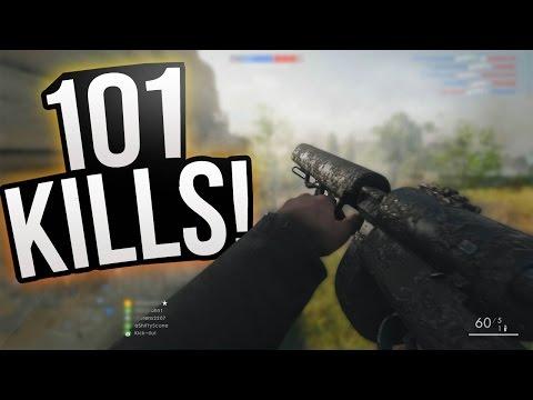 BF1: 101 KILLS!