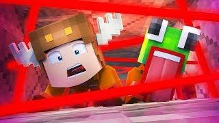Minecraft Daycare - UNSPEAKABLEGAMING PRISON ESCAPE! W/ MOOSECRAFT (Minecraft Kids Roleplay)