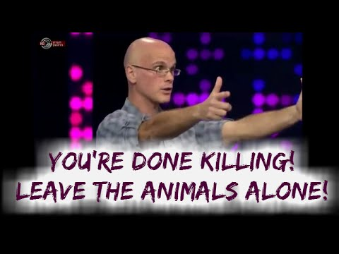 Gary Yourofsky on Israeli TV show: LEAVE THE ANIMALS ALONE!