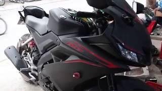 Phú Tài Decal || Cân cảnh Yamaha R15 version 3 Được độ nhẹ phần xi-nhan và biển số