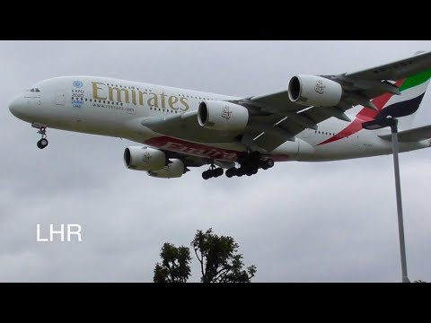Plane Spotting *Afternoon Arrivals* at London Heathrow Airport 🛬🛬🛩