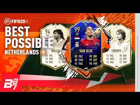 BEST POSSIBLE DUTCH TEAM SQUAD BUILDER! | FIFA 20 ULTIMATE TEAM