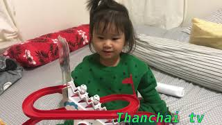 Thanchai Playing Dog Paradise Game Polkadot Cute Dog Learn Color And Count 1-2-3