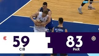 ABA LIGA: Cibona - Partizan | Pregled utakmice