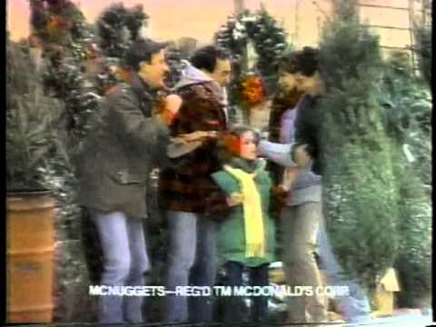 Burger King Christmas 1986 TV commercial