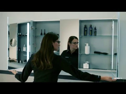 villeroy boch spiegelschrank my view 14 130 cm youtube. Black Bedroom Furniture Sets. Home Design Ideas