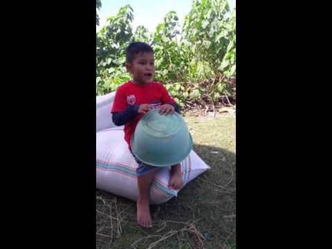 Lagu Cinta Gila with Afif rempong di pinggir sawah bikin ngakak