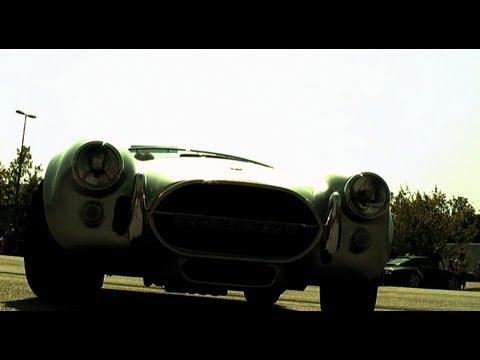 AC Cobra Cabriolet onboard. Nice sound!! Sportscarevent 2010