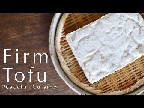 Homemade Firm Tofu