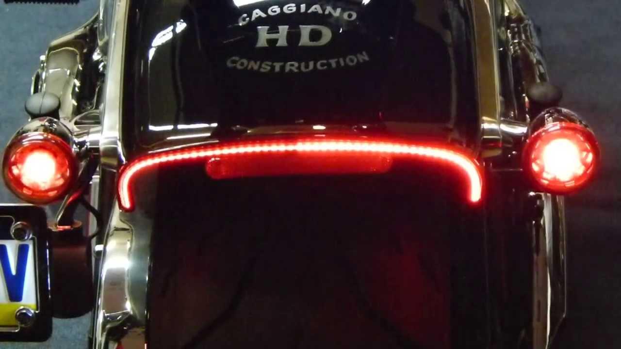 2013 Harley Breakout Custom Designed Tail Light Youtube