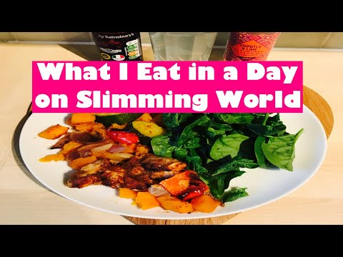 SLIMMING WORLD WHAT I EAT IN A DAY TO LOSE WEIGHT