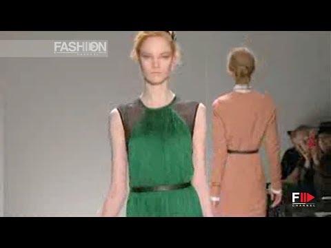 YIGAL AZROUEL Fall 2011 2012 Paris - Fashion Channel