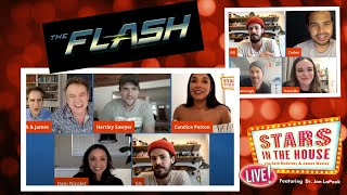#StarsInTheHouse Tuesday 5/19 8PM: The Stars Of CW's Hit Show, THE FLASH