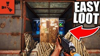 i FOUND a HUGE MISTAKE in THEIR BASE DESIGN! 😲 - Rust Raiding