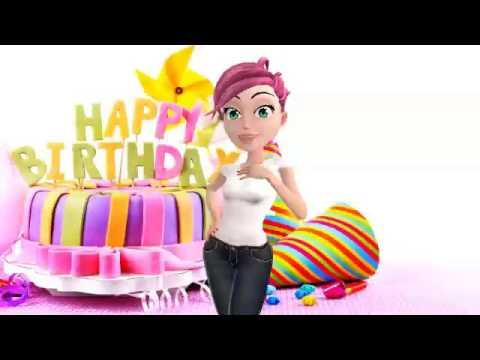 Прикольные видео поздравления с днем рождения. Видео открытки.