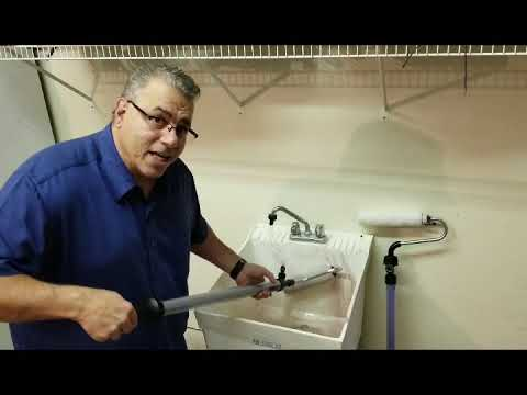 How to Clean Wagner® Smart Roller® or EZ-Twist® PaintStick® IN LESS THAN 3 MINUTES!!!