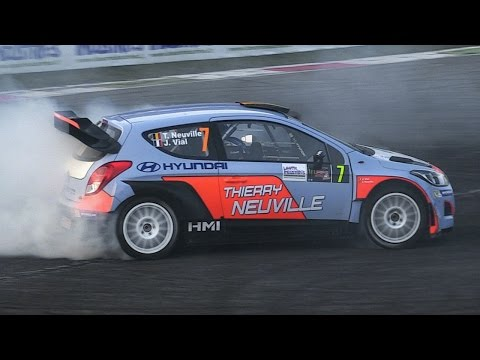 Hyundai I20 WRC Sound - Thierry Neuville At Monza Rally Show 2015