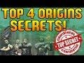 """""""Top 4 Zombies"""" - Top 4 Origins Secrets! (Black Ops 2 Origins Secrets)"""
