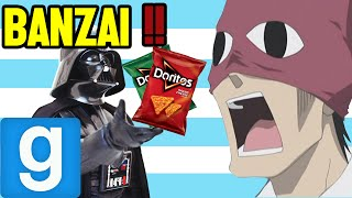 BANZAI!! and Doritos ~ Garry