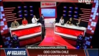 Odio contra Chile desató pasiones en internet