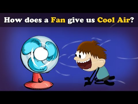 How does a Fan give us Cool Air? | #aumsum #kids #science #education #children