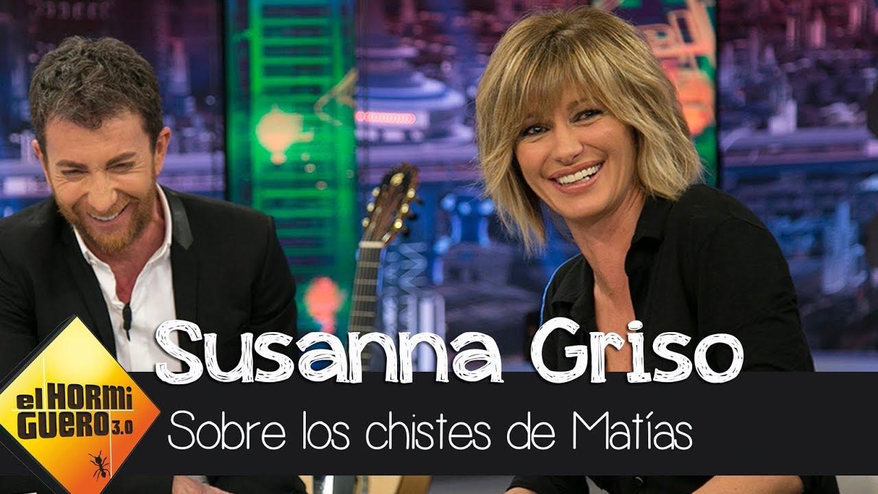 Susanna Griso He Vivido Los Chistes De Matías Prats Durante Años El Hormiguero 30