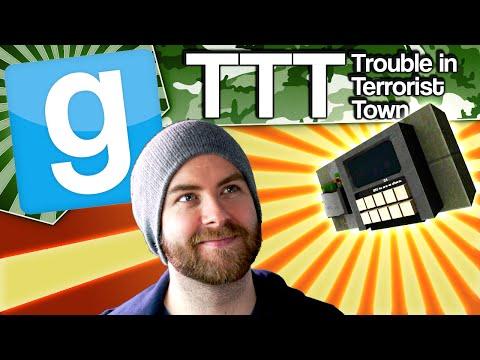 Gmod TTT - Rooftop Revenge (Garrys Mod...