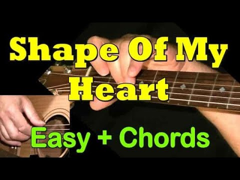 Shape Of My Heart - Sting - Easy Guitar TAB by GuitarNick