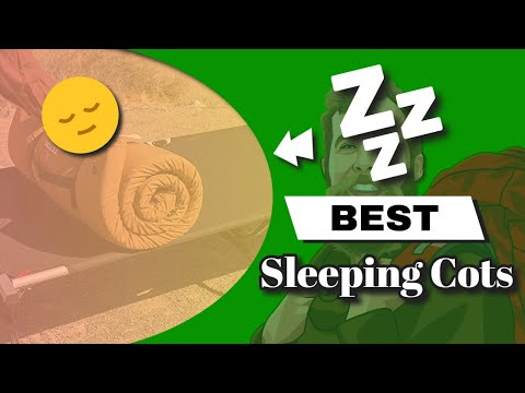 5-best-sleeping-cots---buyer's-guide-and-reviews