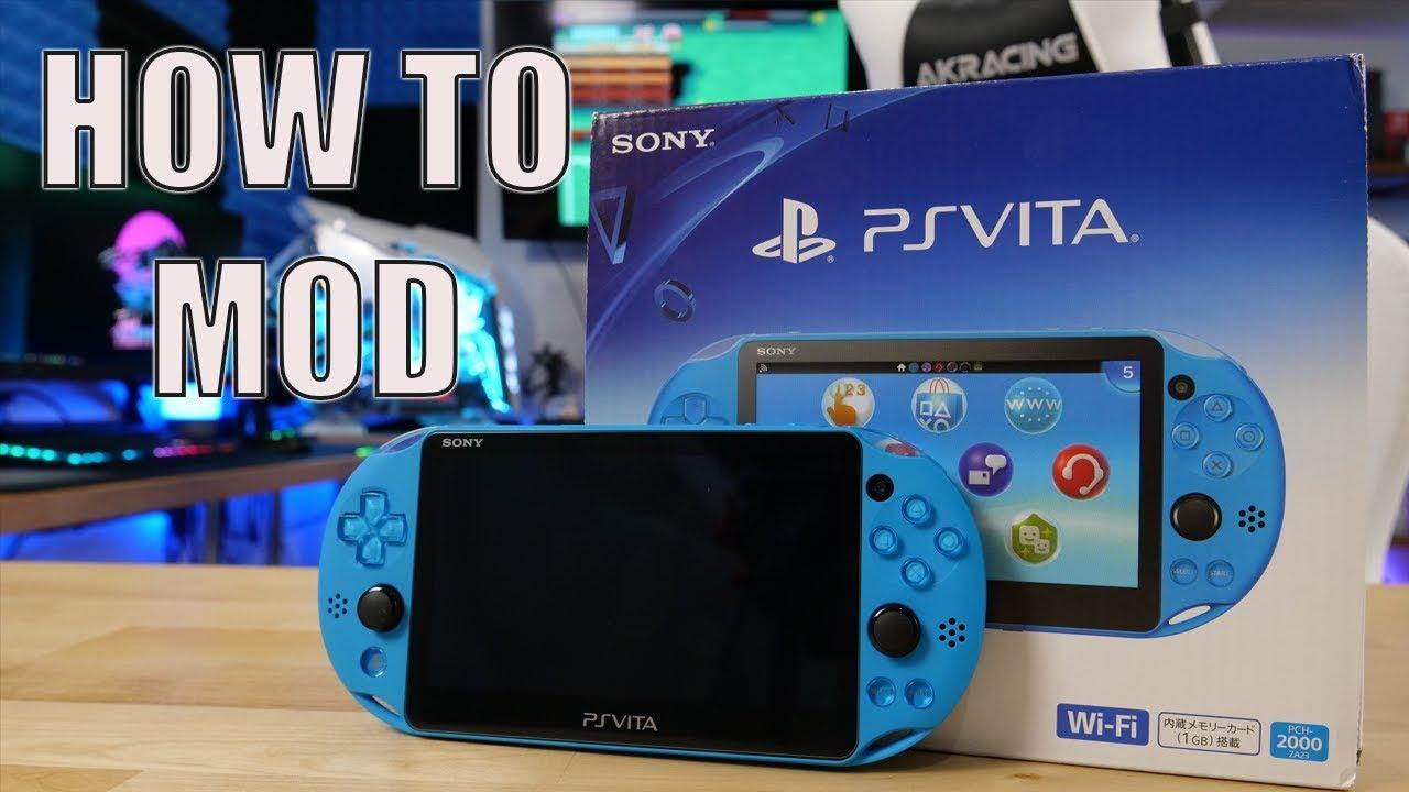 How To Mod a Vita!   Beginner's Guide   FW 3.73 & Below   Tutorial  