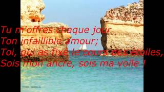 mon ancre et ma voile by rickdyone