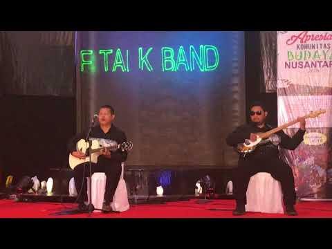 The Talk Band - Lebih Indah Cover Adera Ega (Apresiasi Komunitas Budaya Nusantara 2018)