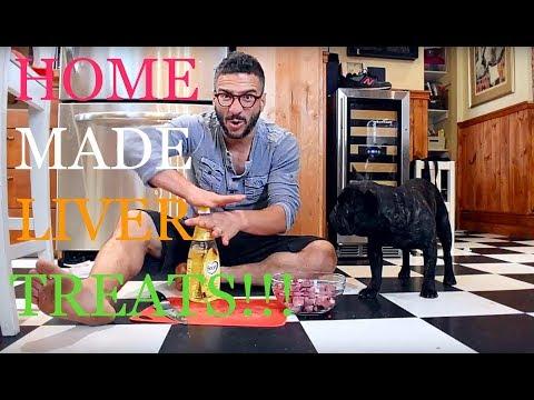 HOMEMADE DOG LIVER TREATS [LIFE HACK VLOG]