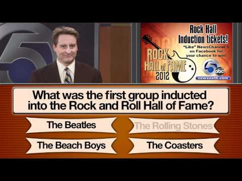 WEWS Rock Hall Trivia Question 1 Rolling Stones Selection