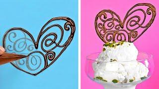 놀라운 초콜릿 팁 || 쉬운 초콜릿 장식 강좌
