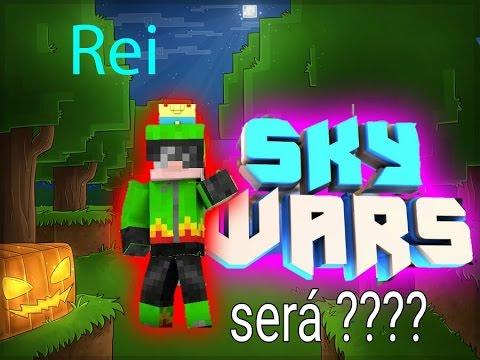 Minecraft: Sou O Rei Do Skywars !!! Será ??