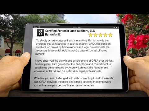 Certified Forensic Loan Auditors, LLC  Los Angeles          Impressive           5 Star Review ...