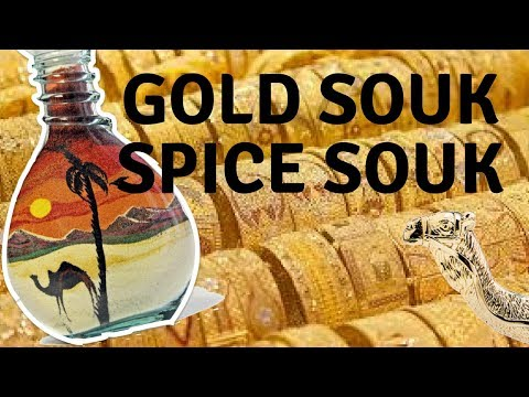 Gold Souk Spice Souk Old Dubai | The most Tourist thing to buy! | Vlog 234
