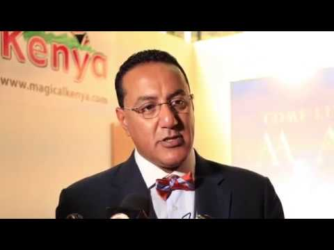 Scenes from the opening of the Magical Kenya Travel Expo