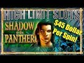 High Limit Slots Shadow of the Panther Slot Machine Big Win JACKPOT * HIGH LIMIT SLOTS