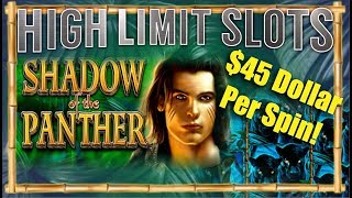 High Limit Slots Shadow of the Panther Slot Machine Big Win HIGH LIMIT SLOTS